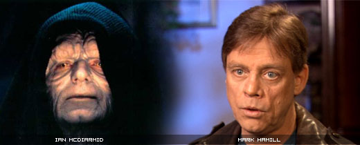 Palpatine vs Mark Hamill