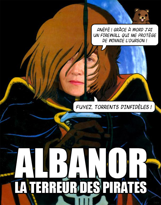 Albanor, terreur des pirates