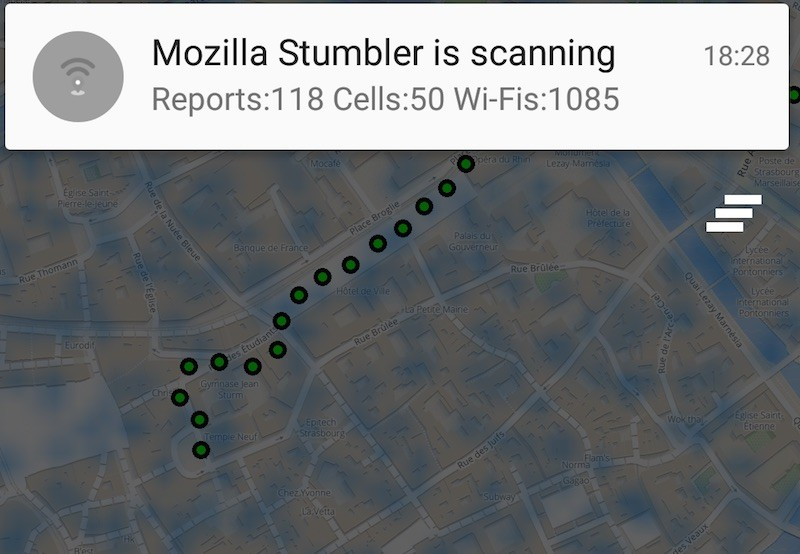 mozilla-stumbler